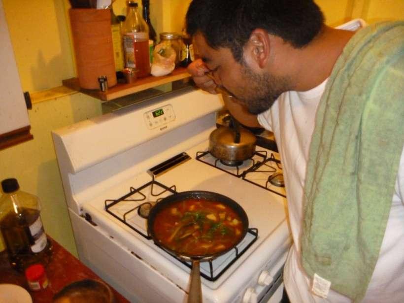 chef tasting