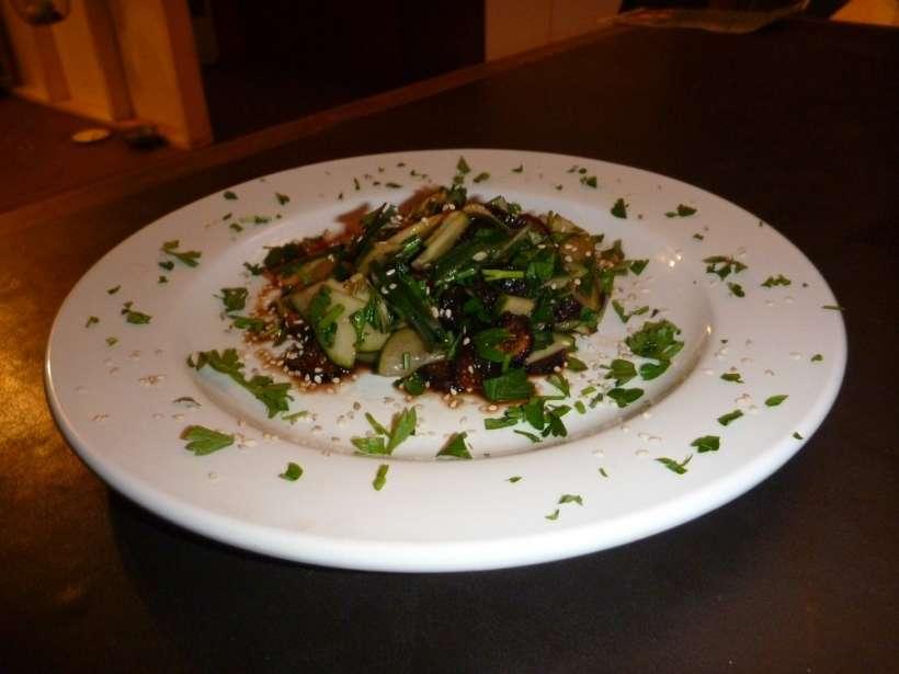 cucumber fig salad