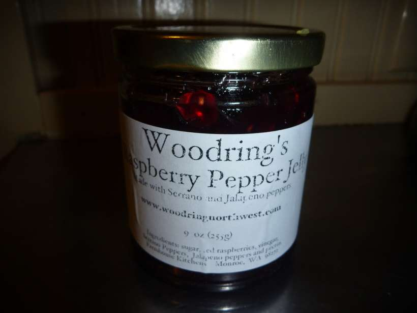 woodring's raspberry pepper jelly pikes place market