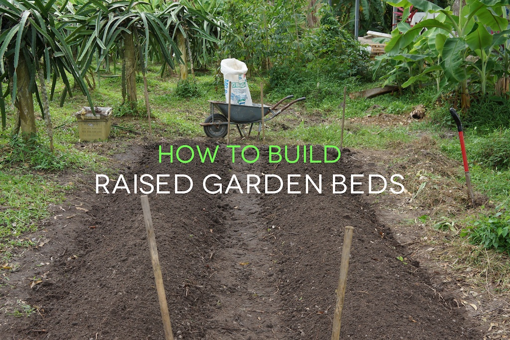 How To Make Raised Garden Beds Modern Practicality