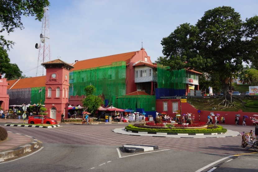 The colorful city of Malacca
