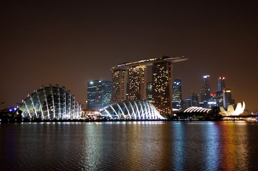 We spent a week in Singapore sightseeing before we started our bike tour.