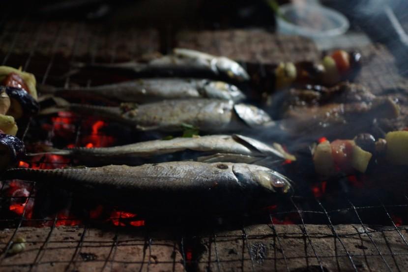 Ikan bakar (BBQ fish)