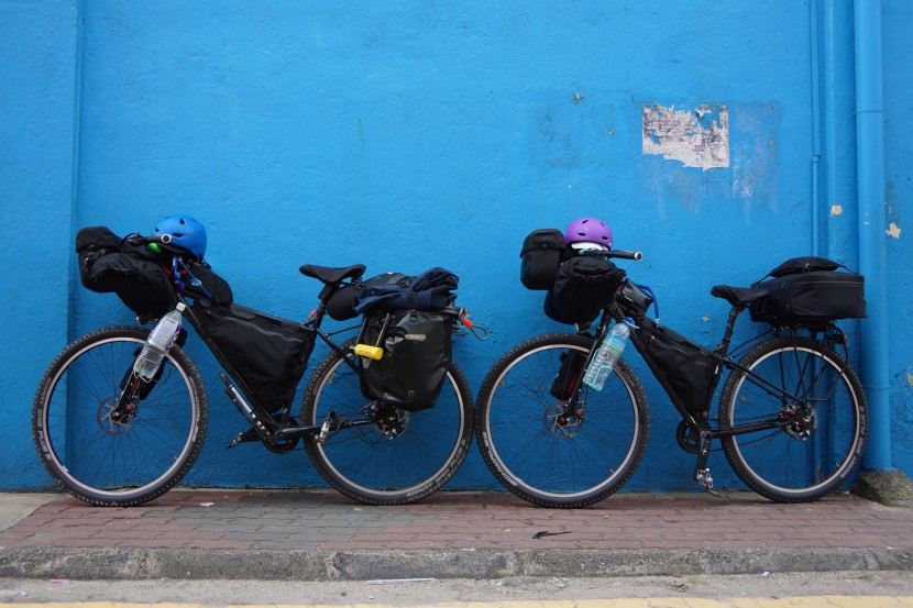 touring, bicycles, cycling, gear