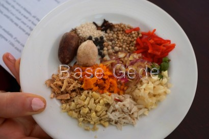 Bali,Base Gede,cooking,Indonesia,recipe,spices,Ubud