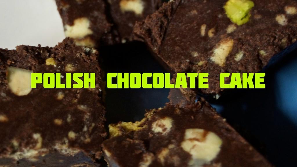 polish, chocolate, cake