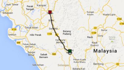 Tanjung-Malim-to-Tapah