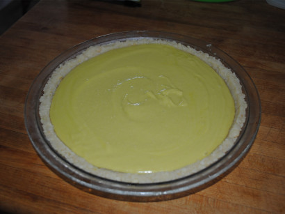 raw vegan gluten-free key lime pie