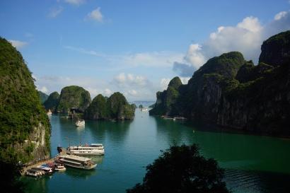 Halong Bay, Vietnam, cruise, boat, ocean